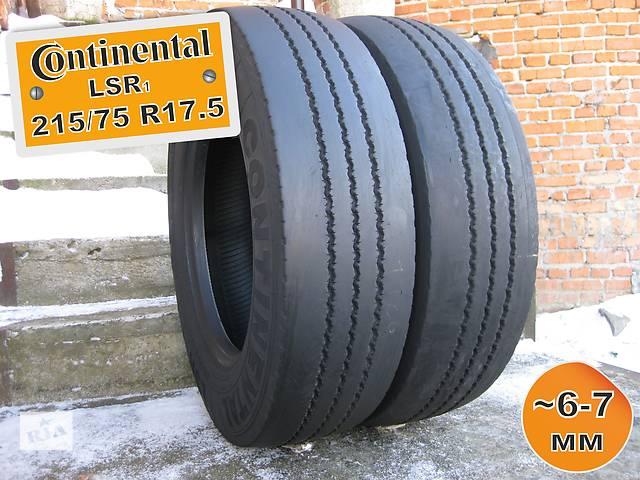 бу 215/75 R17.5 Continental LSR1 (рулевая ось) 6-7мм 2шт в Львове