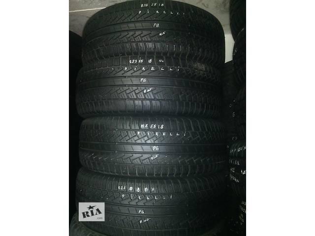 продам 225/55/18 Pirelli P6 Комплект всесезонных шин б/у бу в Киеве