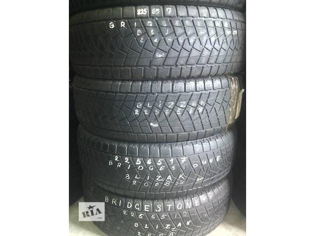 225/65/17 Bridgestone Blizzak Комплект зимних шин б/у - объявление о продаже  в Киеве