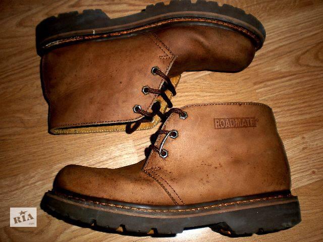 бу -22% Черевики чоловічі Roadmate, США, нубук, метал.носок в Гнивани