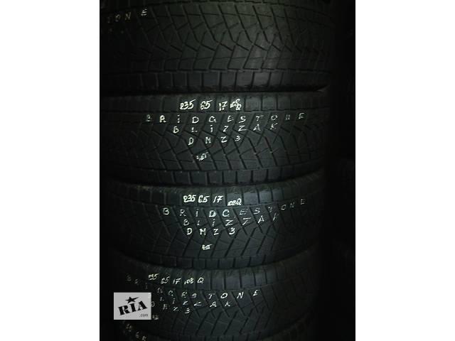 235/65/17 Bridgestone Blizzak DM-Z3 Комплект зимних шин б/у - объявление о продаже  в Киеве