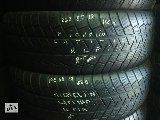 продам 235/65/17 Michelin Latitud Alpin Пара зимних шин б/у  бу в Киеве