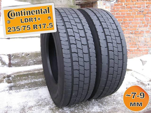 бу 235/75 R17.5 Continental LDR1+ (ведущая ось) 7-9мм 2шт в Львове