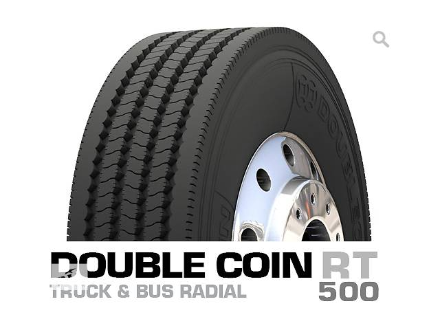 купить бу 255/70R22.5 Новые шины Double Coin RT500 Доставка Бесплатно! в Киеве
