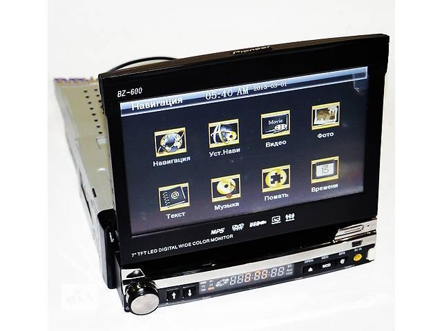 продам 2DIN DVD видео USB SD автомагнитола Pioneer S600 GPS TV экран 7 дюйм подключение камеры Bluetooth съемная панель пульт бу в Одессе
