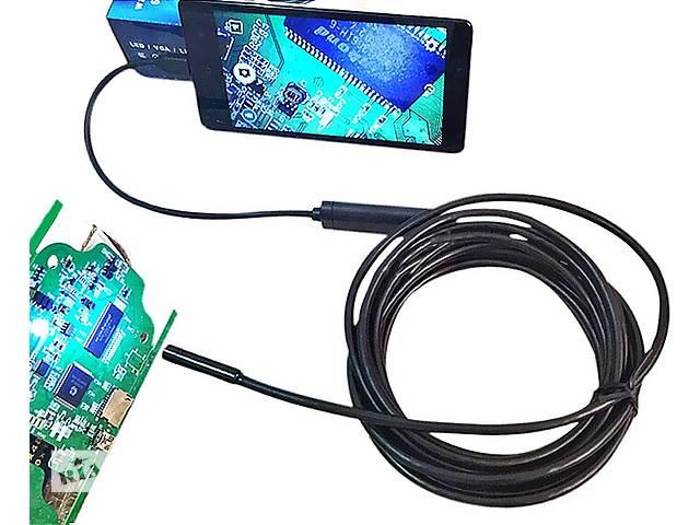 продам 3,5 М 5,5 мм 6 LED объектив IP67 USB Android 1.3МП эндоскоп бу в Ровно