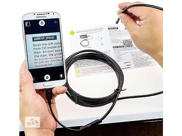 бу 3,5 М 5,5 мм 6 LED объектив IP67 USB Android 1.3МП эндоскоп в Ровно