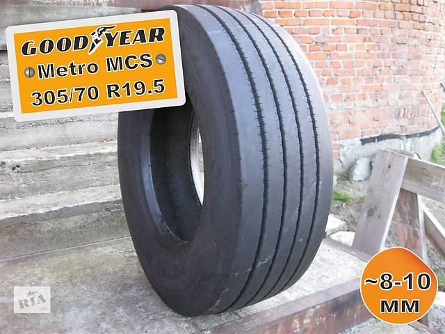 продам 305/70 R19.5 GoodYear Metro MCS (прицепная ось) 8-10мм 1шт бу в Львове