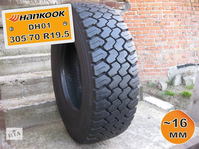 бу 305/70 R19.5 Hankook DH01 (ведущая ось) 16мм 1шт в Львове