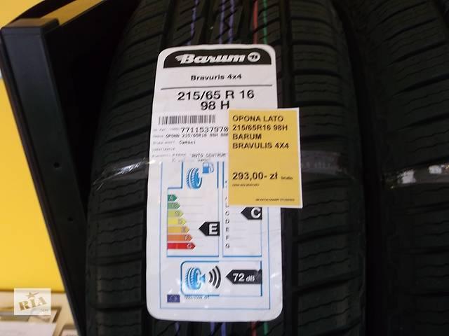 продам 4 шины 215/65r16 barum bravirus 4x4 бу в Ивано-Франковске