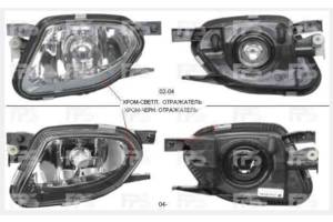 Новые Фары противотуманные Mercedes E-Class