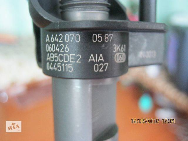 бу A6420700587,Bosch 0445115027, Mercedes E-Class G-Class S-Class GLK-Class ML-Class R-Class Sprinter VITO VIANO 2.8 3.0CDI в Луцке
