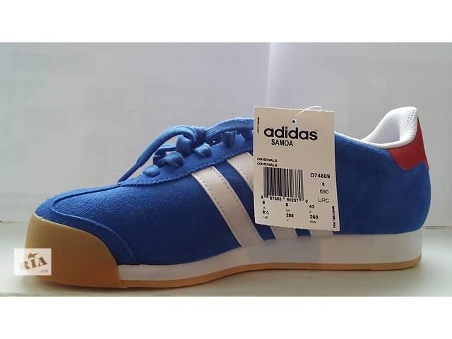 бу Adidas Samoa Blue/White Athletic в Шевченкове