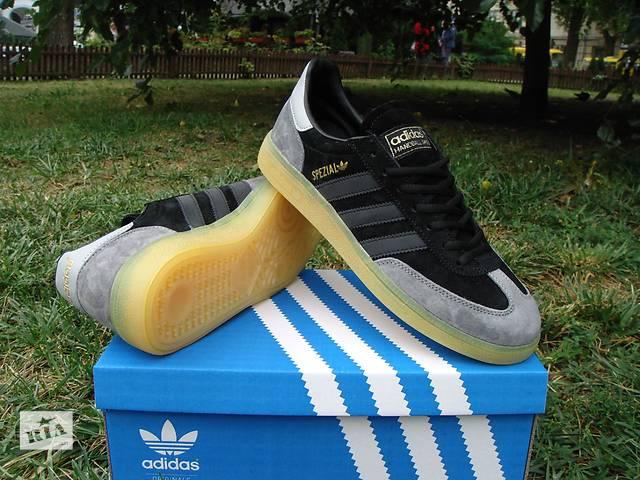 купить бу Adidas Spezial Gray Black в Львове