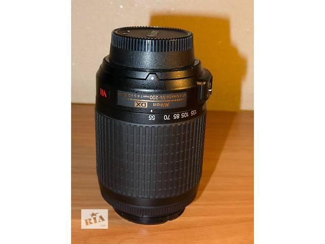 купить бу Af-s nikkor 55-200 1:4-5,6 g в Киеве