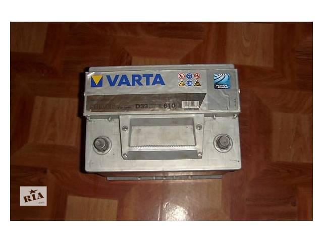 купить бу Аккумулятор Varta SILVER dynamic 63ампера в Переяславе-Хмельницком