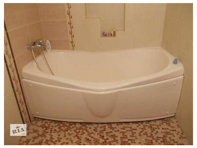 бу Акриловая ванна вместе со стенкой в Киеве