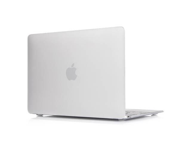 Матовый прозрачный чехол на MacBook Pro 13'