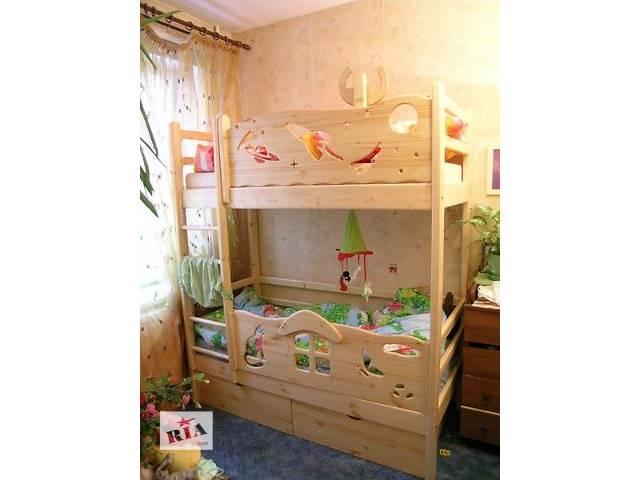 купить бу Акція ексклюзив двухъярусная кровать з карпатських лісiв вашим дiточкам в Києві