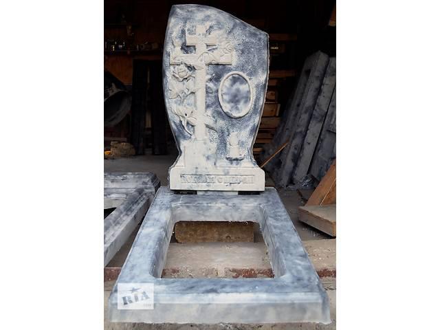 купить бу Акция на памятники из полимербетона в Запорожской области