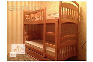 Двухъярусная кроватка Карина  с  ортоп. матрасами + ящики для игрушек в подарок !