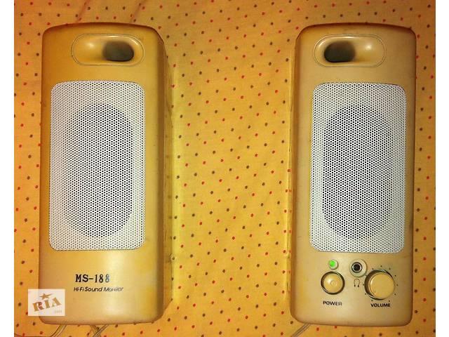 Активная ретро-акустика-компьютерные колонки Hi-Fi Sound Monitor MS-188- объявление о продаже  в Северодонецке
