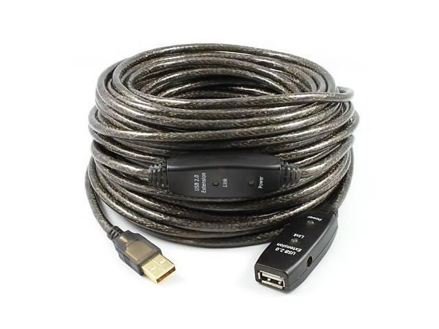 продам Активный удлинитель Monoprice 20M USB 2.0 AM to AF бу в Киеве