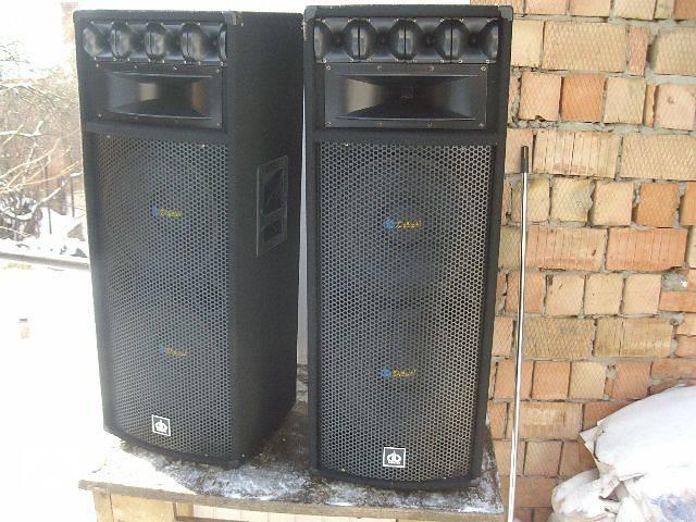 Акустическая системa 2 x 800ватт для дискотеки.- объявление о продаже  в Черновцах