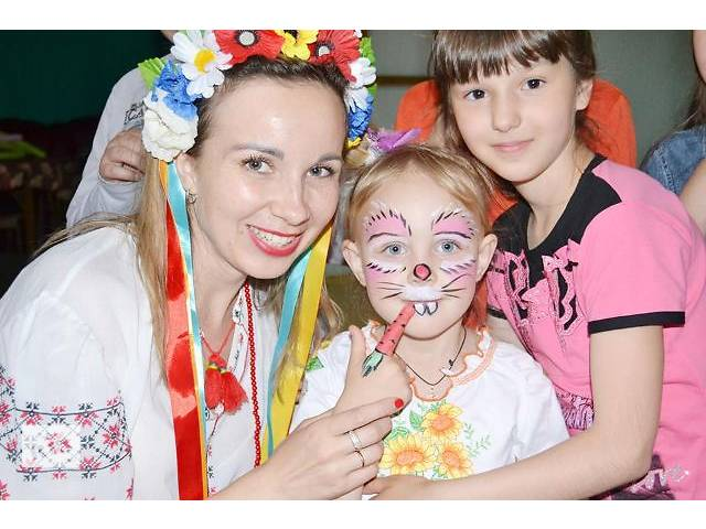 бу Аквагрим на детский праздник в Кировограде в Кропивницком (Кировограде)