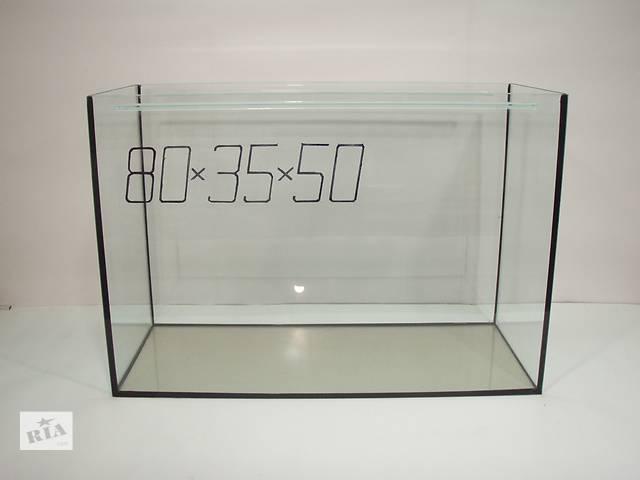 купить бу Аквариум 140л. 80см-35-50(высота) в Днепре (Днепропетровск)