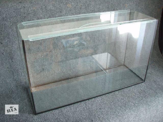 Аквариум 52л + покровное стекло.отправка по украине- объявление о продаже  в Днепре (Днепропетровск)