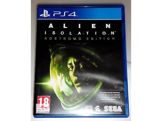продам Alien Isolation Nostromo Edition PS4 (диск, рус. версия) бу в Запорожье