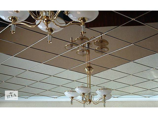 купить бу  Алюминиевые подвесные потолки, плиты алюминиевые потолочные в Киеве