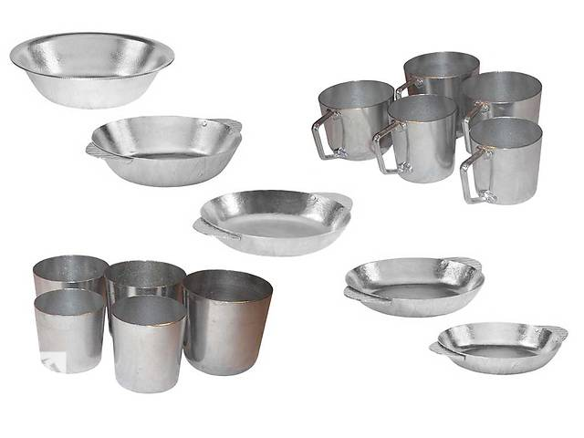 купить бу Алюминиевые кружки, тарелки и стаканы . в Одессе