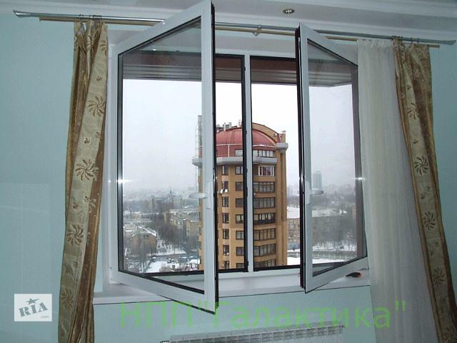 купить бу Алюминиевые окна в квартиру  в Украине