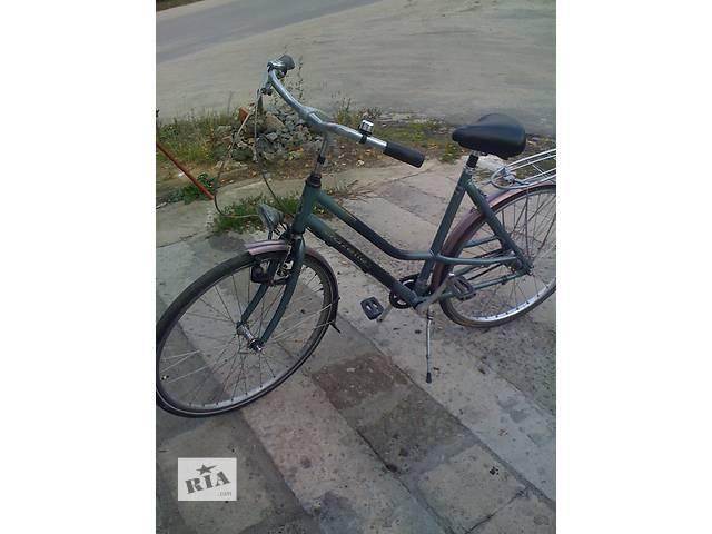 Алюминиевый велосипед Gazelle(Голландия)- объявление о продаже  в Ковеле