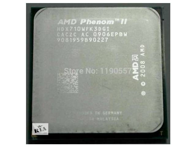 купить бу AM3 Phenom II X3 710 4ядра 2,6 ghz разблокируется на 4 ядра в Ровно