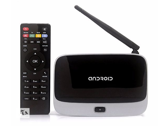 Android Smart TV box CS918 четырехъядерный, медиаплеер андроид 4 ядра с пультом ДУ- объявление о продаже  в Днепре (Днепропетровск)