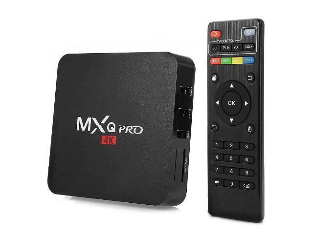 купить бу Android Smart TV Box MXQ Pro Amlogic S905 Quad Core, 1/8Gb, WiFi в Львове