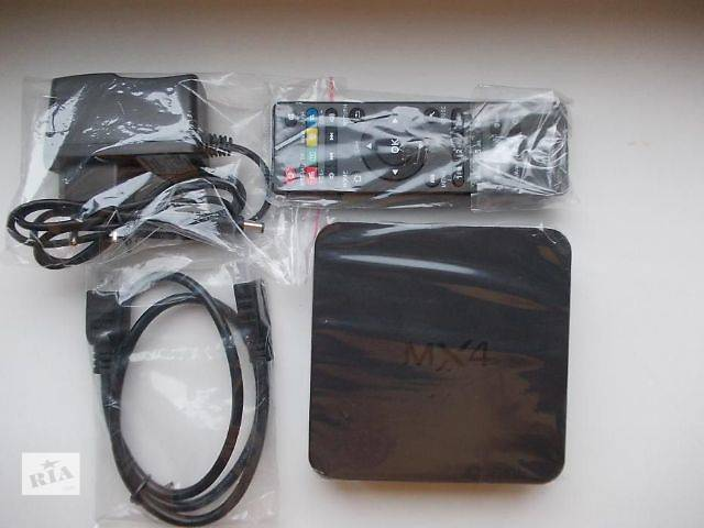 Android TV Smart Box MX4 RK3229 Медиаплеер в наличии- объявление о продаже  в Киеве