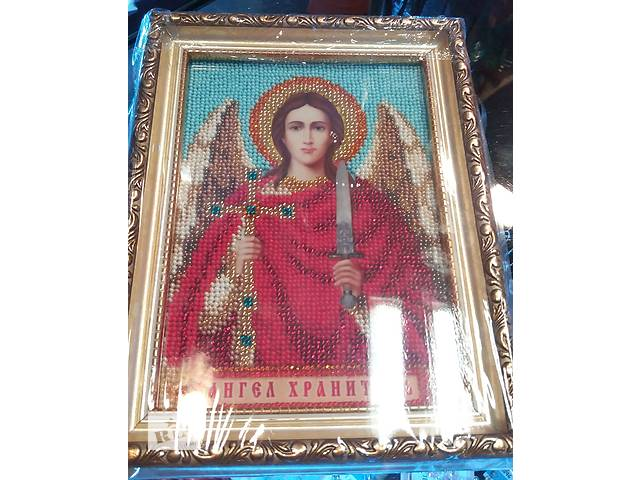 Ангел Хранитель Икона бисером РАСПРОДАЖА! - объявление о продаже  в Киеве