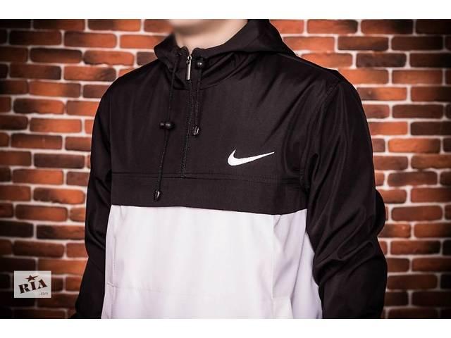 """продам Анорак """"Nike"""" - черные с белым. бу в Виннице"""