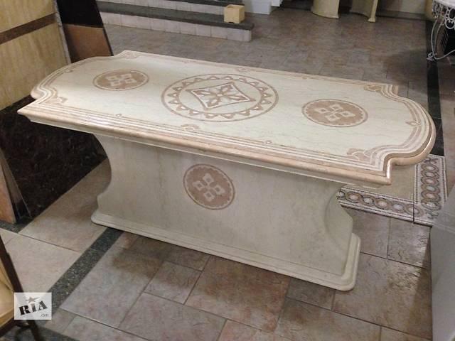 купить бу Антресоль Стол из мрамора,  Компания Babich Design, Полтава в Полтаве