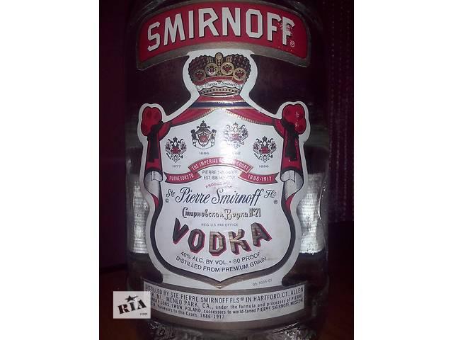 продам Антикварная бутылка из под Смирнофф 1,75 (оригинал) бу в Хмельницком