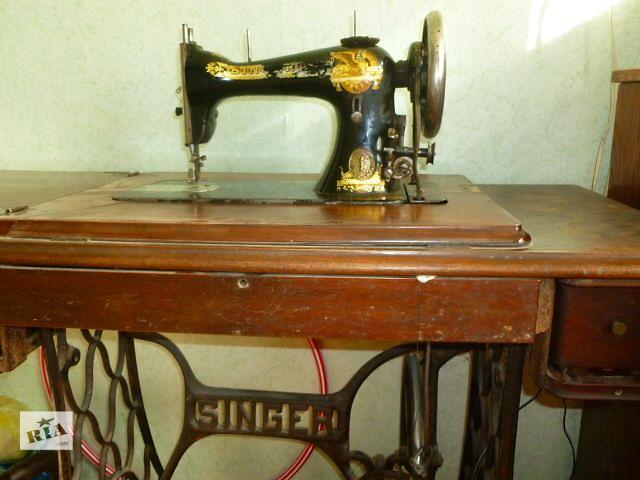 бу Антикварная швейная машинка Singer в Киеве