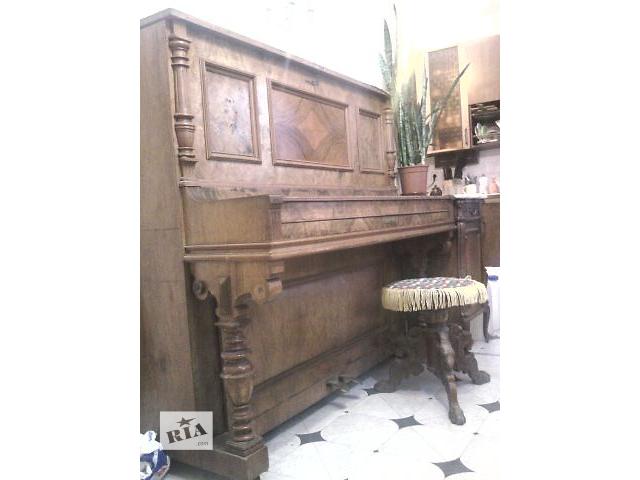 бу Антикварні музичні інструменти Антикварне піаніно задовільний в Броварах