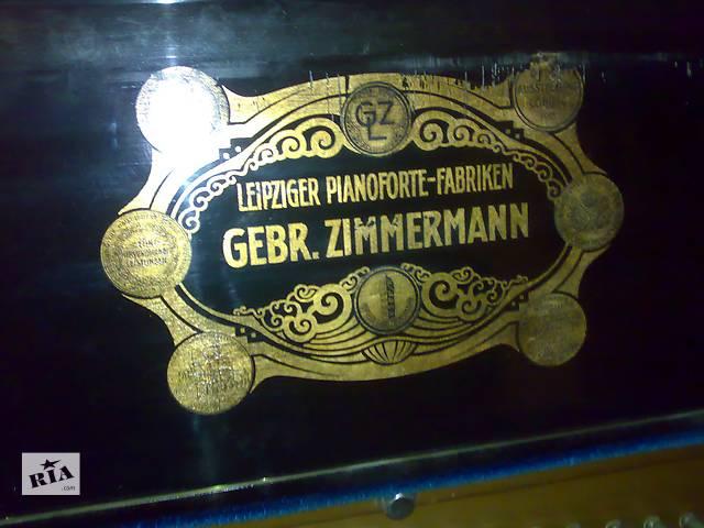продам Антикварное пианино Gebr. Zimmermann бу в Киеве