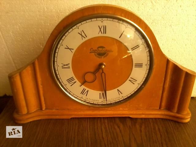 продам Антикварные настольные   часы «Сердобский часовой завод», СССР, 1958 год. бу в Киеве