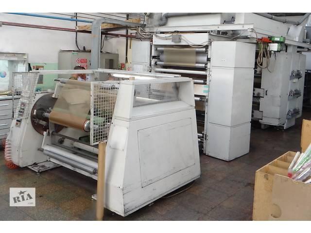 Флексографская шестицветная печатная машина 1200мм- объявление о продаже  в Черкассах