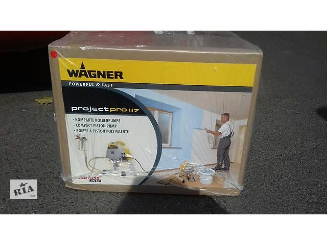 продам Апарат фарбувальний Wagner ProjecPro 177 (Краскапульт Вагнер) бу в Львове